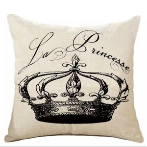 Other - SALE!!Crown Accent Pillow